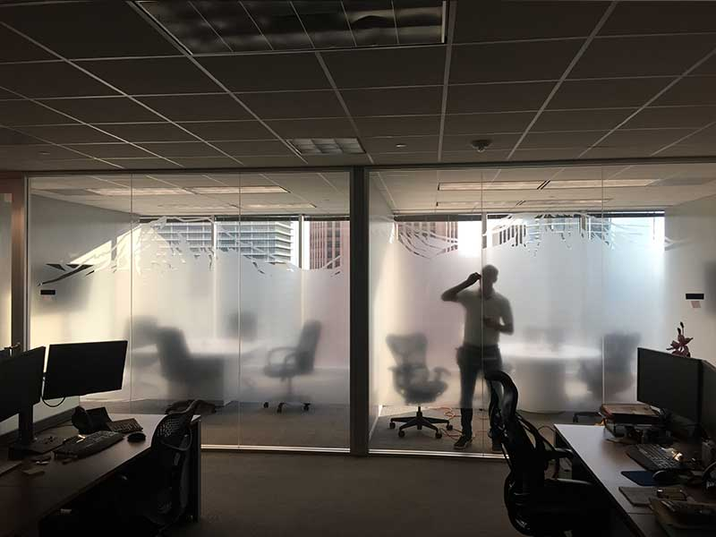 Privacy Window Film - image 3-2 on https://skylightwindowfilms.com