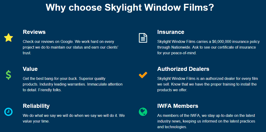 Safety & Security - image footer on https://skylightwindowfilms.com