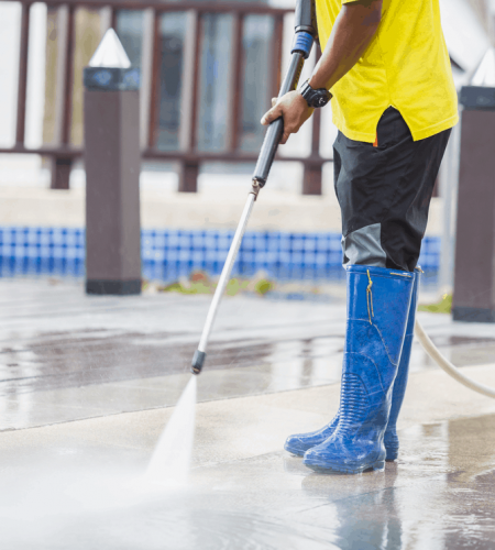 Commercial Pressure washing services Houston